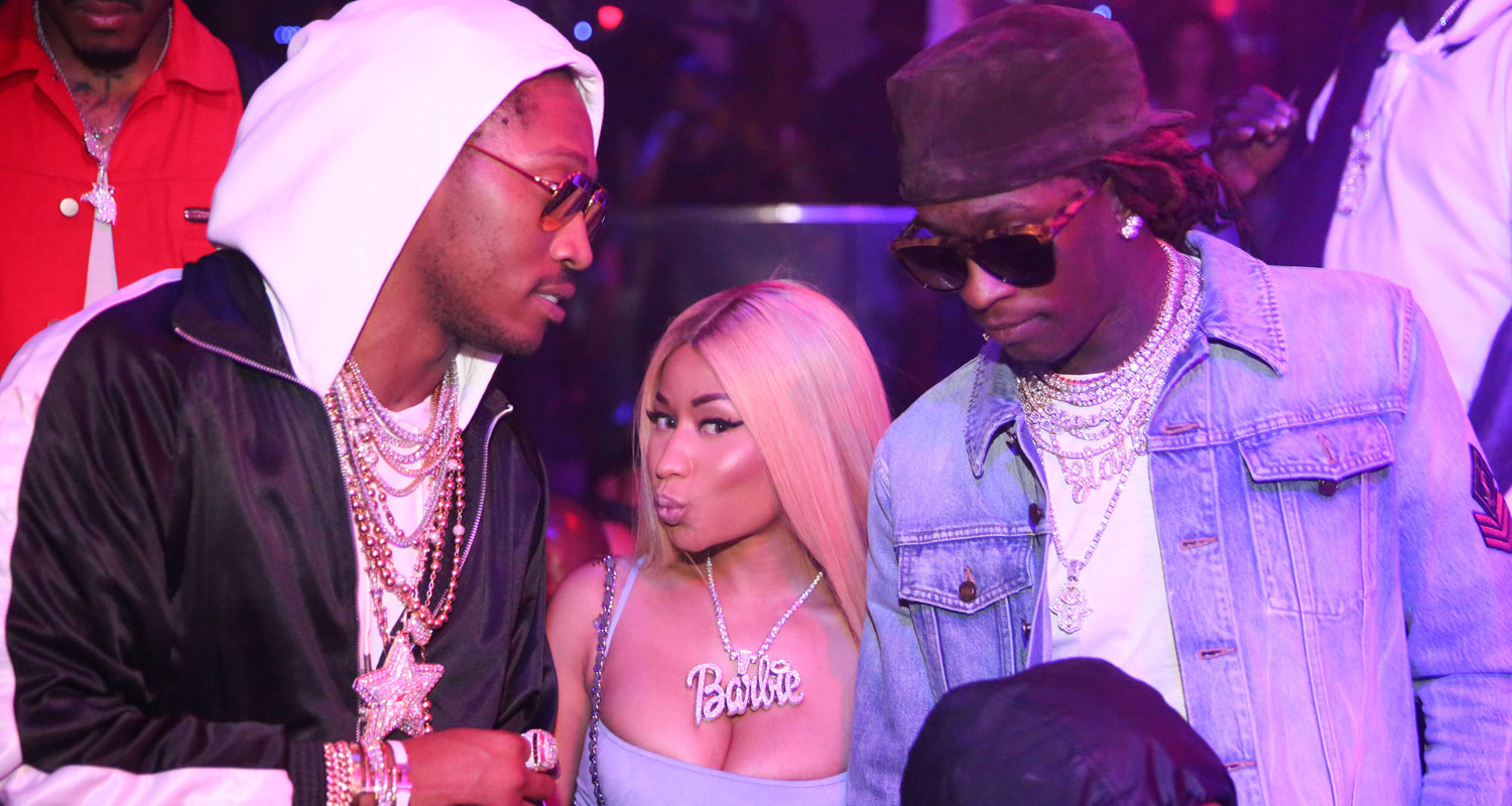 09d3a6f7cc Nicki Minaj Lives It Up with Future   Young Thug in Miami!