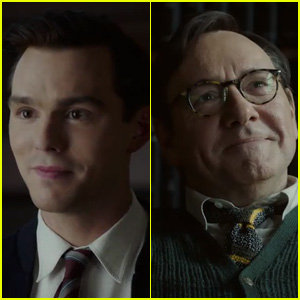 Nicholas Hoult & Kevin Spacey Star in 'Rebel in the Rye' Trailer - Watch Now!