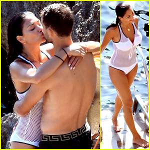 Nicole Scherzinger & Boyfriend Grigor Dimitrov Flaunt PDA in Super Hot Beach Photos!