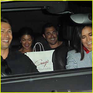 Nina Dobrev & Taylor Lautner Both Dress as Ryan Lochte for ...
