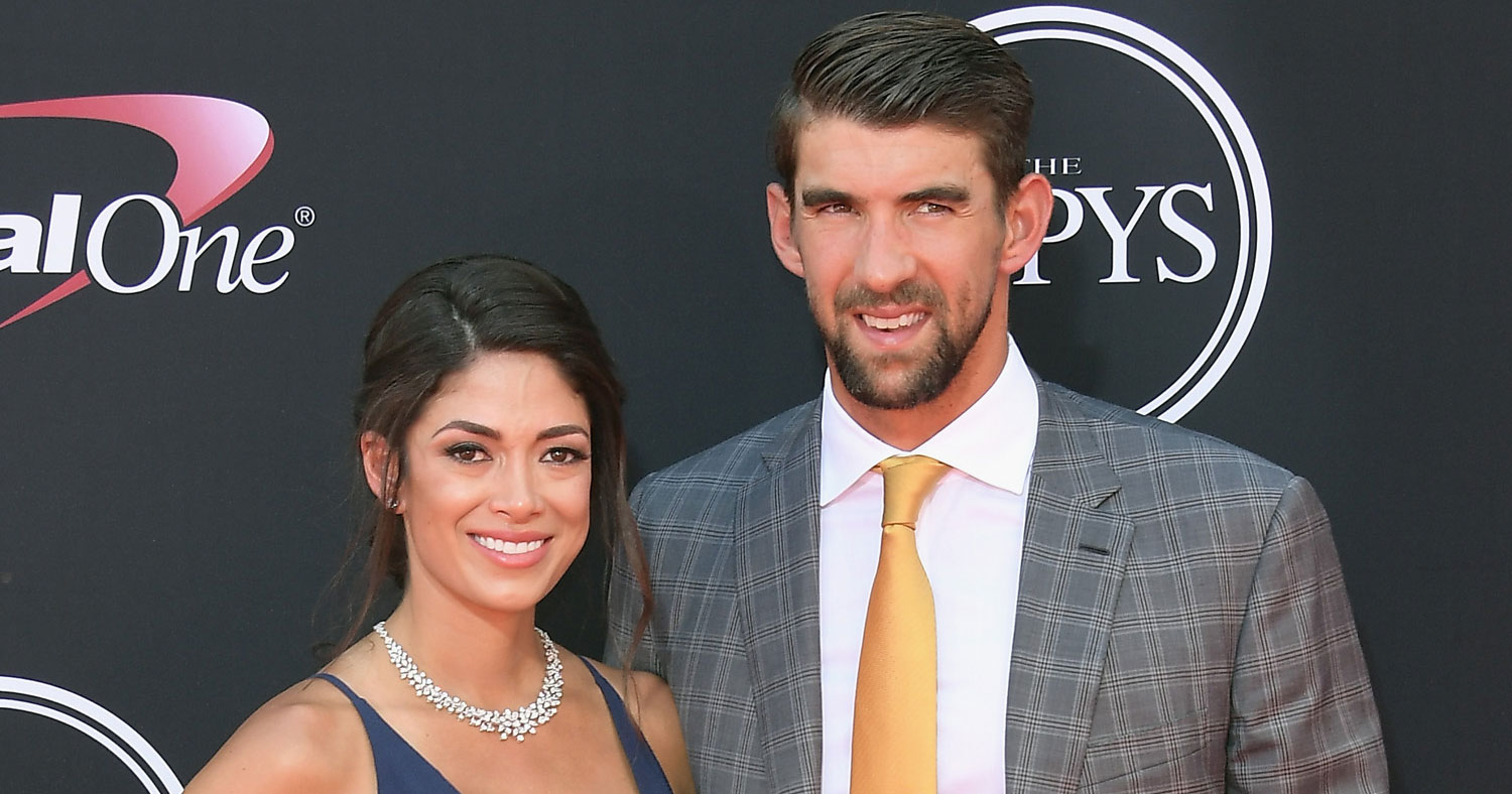 Michael Phelps & Wife Nicole Are One Hot ESPYs 2017 Couple