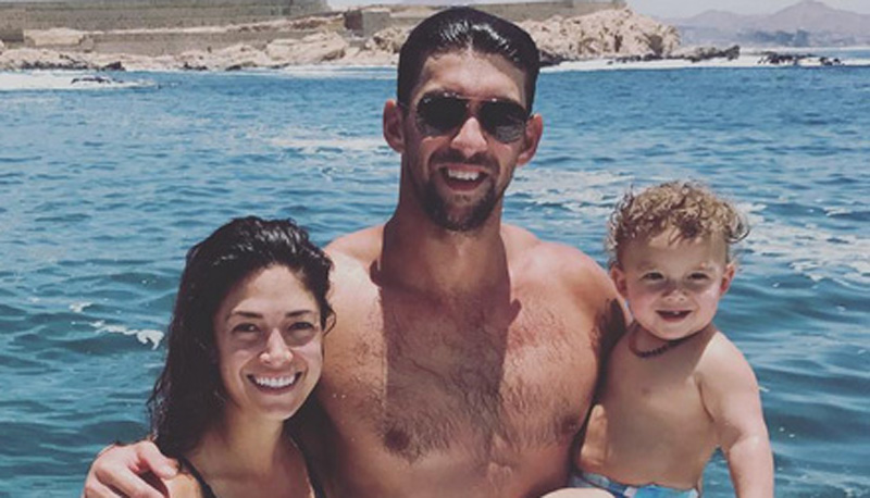 Michael Phelps Shares Adorable Family Photo Over Fourth of July Weekend