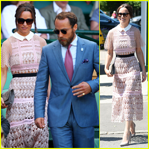 Pippa Middleton & Brother James Hit The Royal Box For
