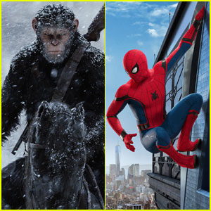u0027War for the Planet of the Apesu0027 Beats u0027Spider-Man Homecomingu0027 at Weekend Box Office & Spiderman Photos News and Videos | Just Jared