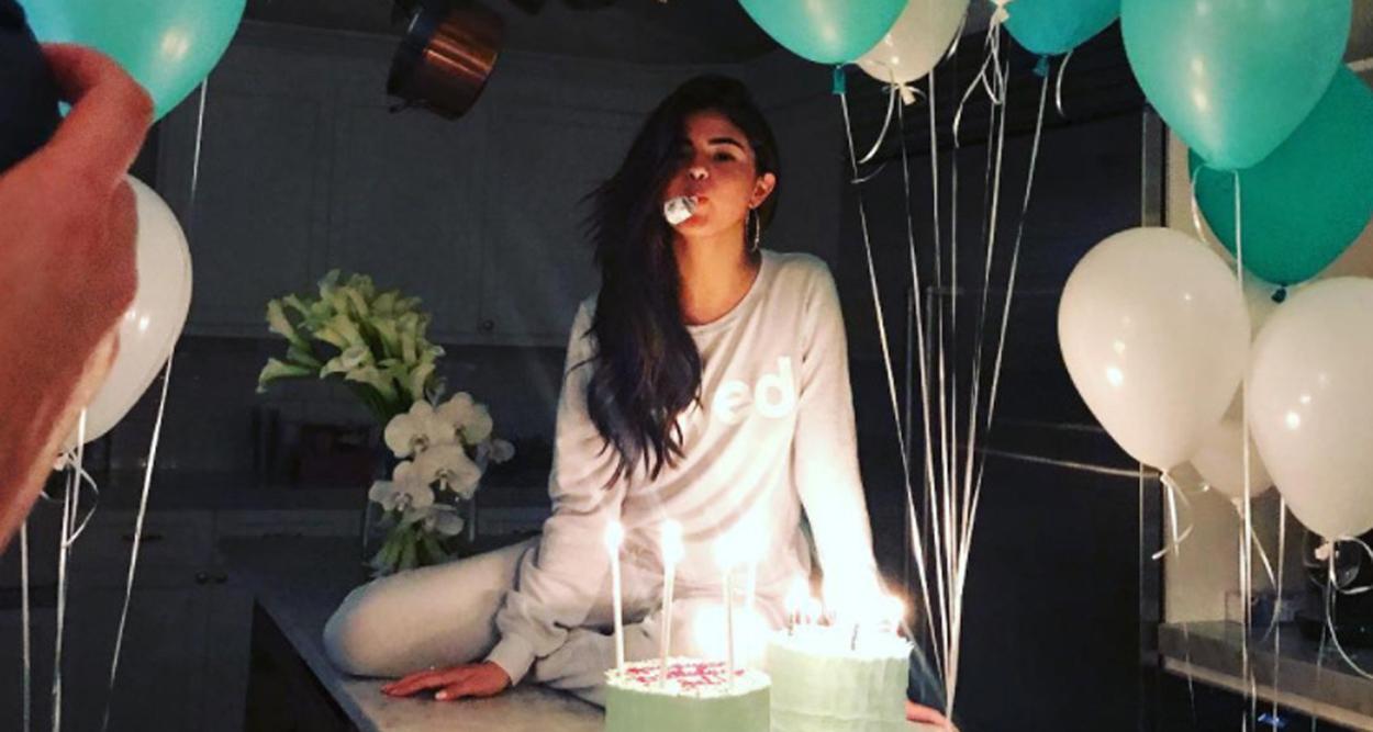 Selena Gomez Th Birthday Cake