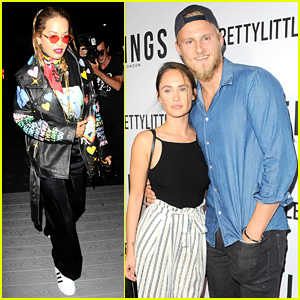 Alexander Ludwig & Rita Ora Step Out for Secret Magazine Party