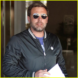 Ben Affleck Enjoys a Solo Outing in Brentwood