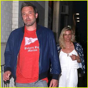 Ben Affleck & Girlfriend Lindsay Shookus Enjoy a Dinner Date in LA