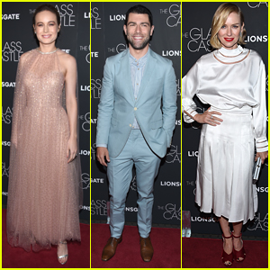 Brie Larson, Max Greenfield, & Naomi Watts Premiere 'The Glass Castle' in NYC