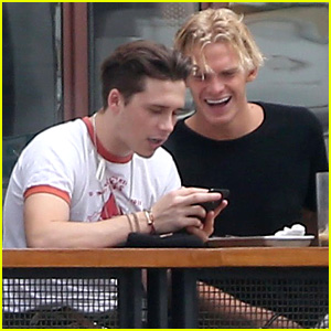Brooklyn Beckham & Cody Simpson Can't Stop Laughing at Lunch in WeHo