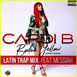 Cardi B feat. Messiah: 'Bodak Yellow - Latin Trap Remix' Stream, Lyrics, & Download - Listen Now!