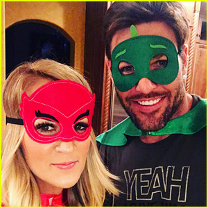 Carrie Underwood & Mike Fisher Dress Up as Superheroes with Their Son Isaiah!