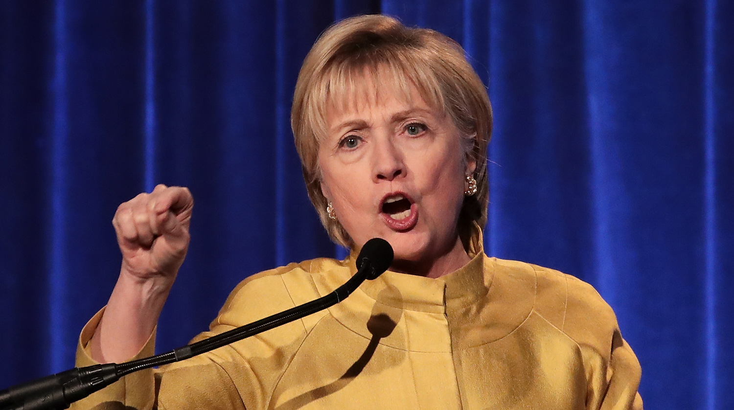 Hillary Clinton Condemns the 'White Supremacists in Our Streets'