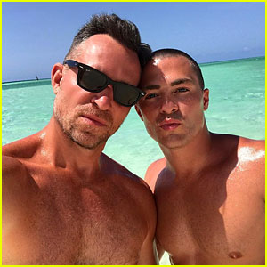 Colton Haynes & Fiance Jeff Leatham Share Vacation Photos from Gorgeous Caribbean!