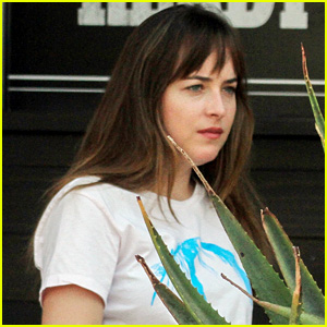 Dakota Johnson Enjoys a Low-Key Lunch with Friends