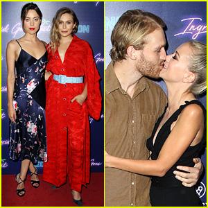Aubrey Plaza & Elizabeth Olsen Forgo Matching Outfits for 'Ingrid Goes West' NYC Premiere