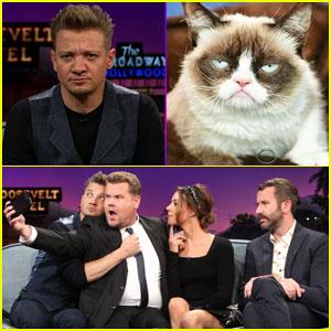 Elizabeth Olsen Thinks Jeremy Renner Resembles Grumpy Cat