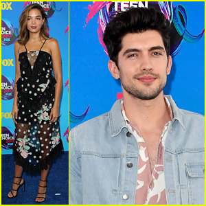 'Famous in Love' Cast Reunites at Teen Choice Awards 2017!