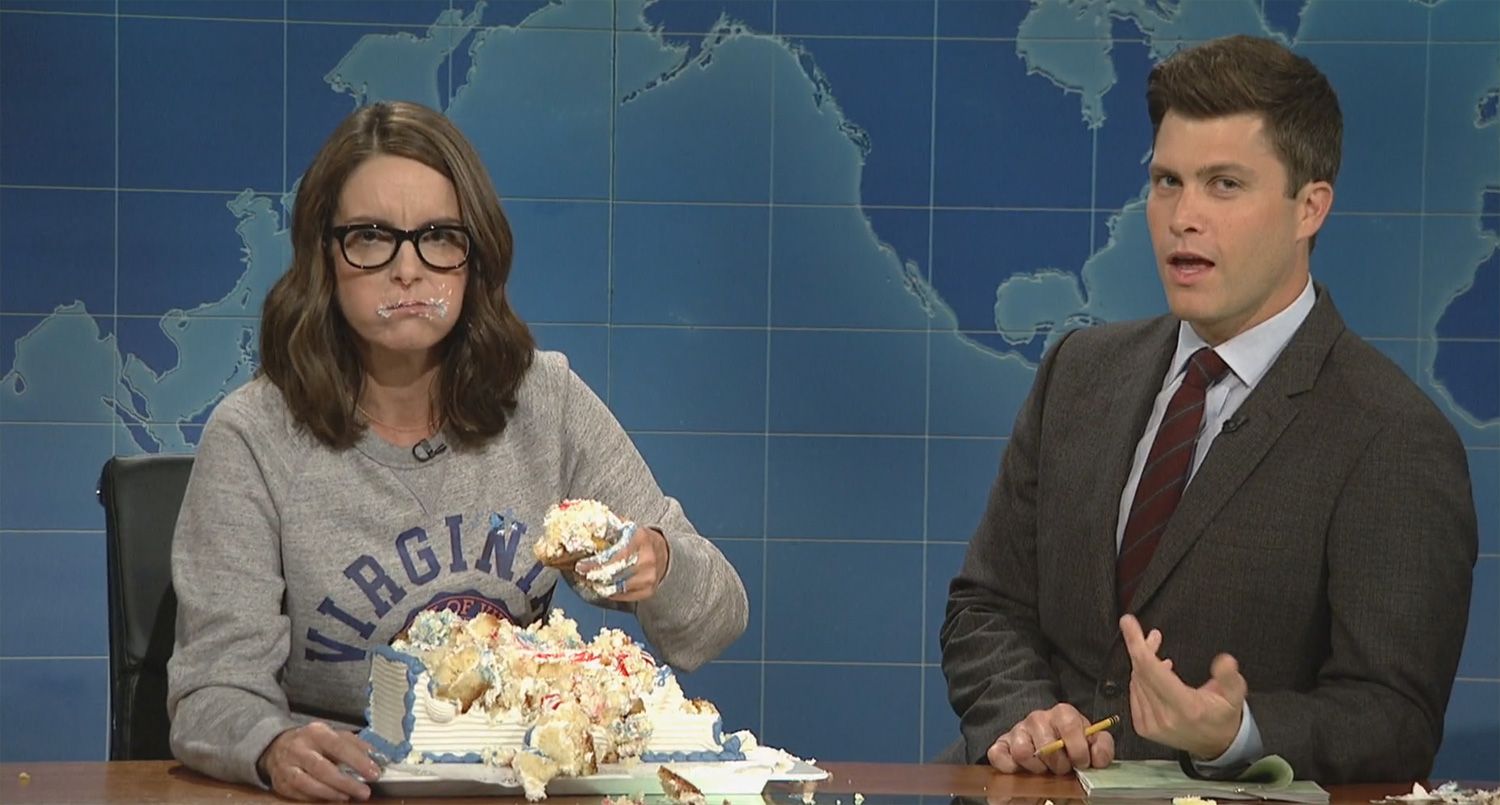 Tina Fey Slams Trump During Return to SNL?s Weekend Update ? Full Video!