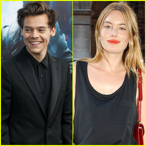 Harry Styles Might Be Dating Victoria's Secret Model Camille Rowe!