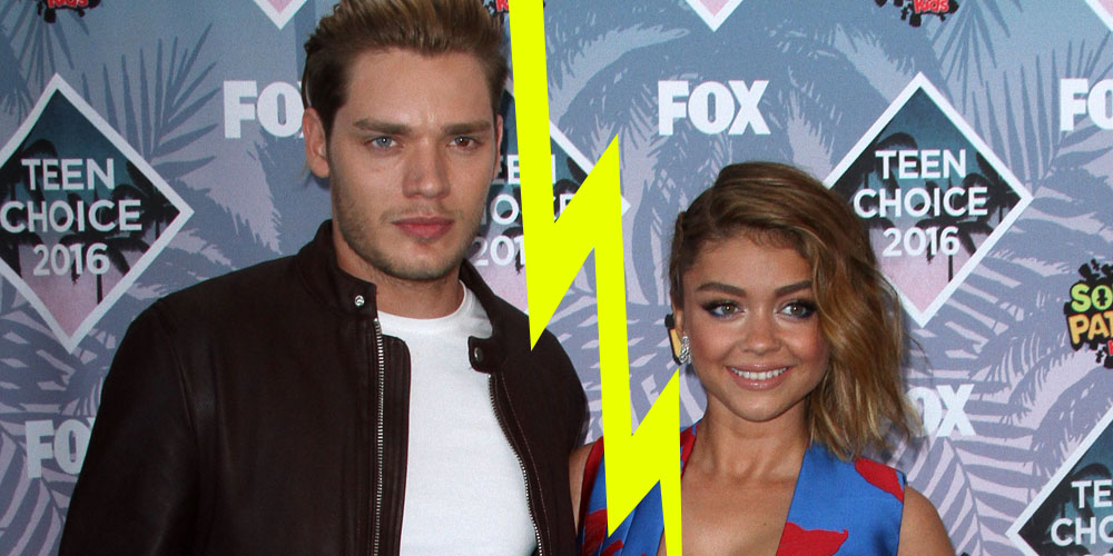 Sarah Hyland Splits With Dominic Sherwood After Two Years (Report)