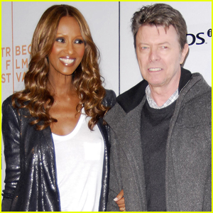 Iman Shares Rare Photo Her and David Bowie's Daughter