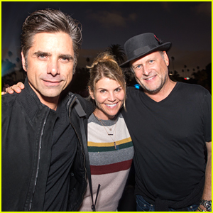 John Stamos Celebrates Birthday with 'Full House' Costars Lori Loughlin & Dave Coulier!
