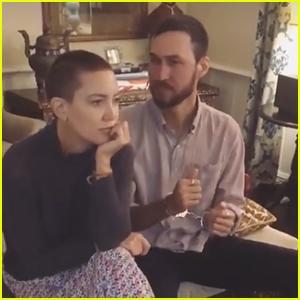 Kate Hudson Debuts Shaved Head with Boyfriend Danny Fujikawa – See