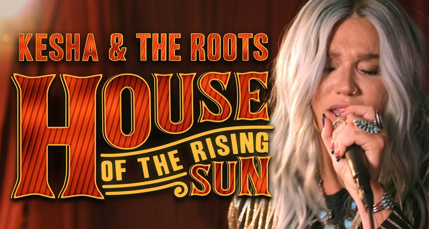 Kesha S Delivers Acoustic House Of The Rising Sun Cover