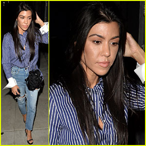Kourtney Kardashian Used to Secretly Cry in the Bathroom During 'KUWTK' Filming