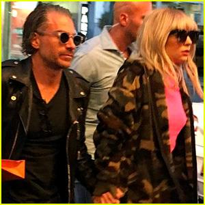 Lady Gaga Goes Bowling in NYC with Boyfriend Christian Carino