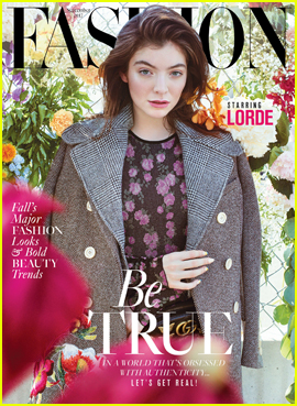 Lorde Gets Ethereal For 'Fashion Magazine' Cover