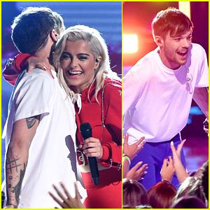 Louis Tomlinson & Bebe Rexha Perform 'Back to You' at Teen Choice Awards 2017