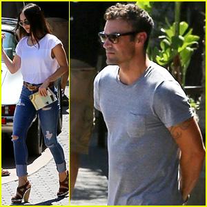 Megan Fox & Brian Austin Green Grab Lunch at a Malibu Staple