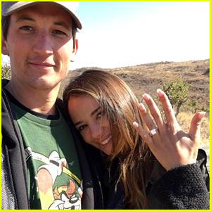 Miles Teller & Keleigh Sperry Are Engaged - See Her Ring!