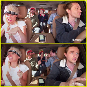 Miley Cyrus & The Entire Cyrus Family Takeover 'Carpool Karaoke' - Watch the Preview!