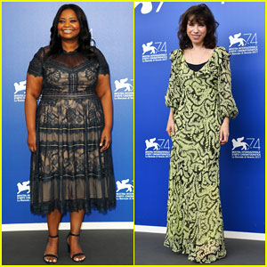 Octavia Spencer & Sally Hawkins Hit Venice Film Fest To Promote 'Shape of Water'!