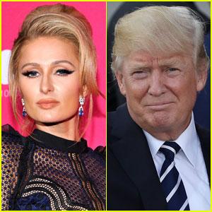 Paris Hilton Apologizes for Defending Trump's 'Grab Them By the P--sy' Comments
