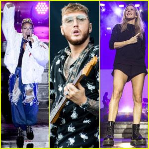 Pink, James Arthur, Ellie Goulding & More Hit The Stage at V Festival 2017!