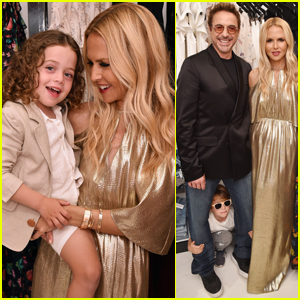 Rachel Zoe Celebrates Her Pop Up Shop With Robert Downey Jr.