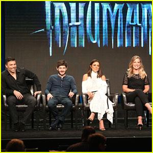 Serinda Swan Responds to Medusa Wig Criticism at 'Inhumans' TCA Panel