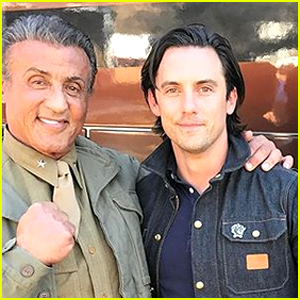 Sylvester Stallone Begins Filming 'This Is Us' - See the Photos!