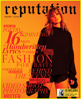Taylor Swift Reveals 'Reputation' Magazine Cover Photos!