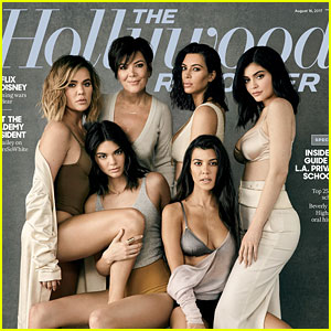 The Kardashians Cover 'THR,' Reveal the One 'KUWTK' Scene They Had to Edit