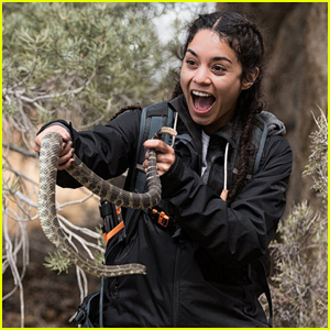 Vanessa Hudgens Comes Face-to-Face With a Rattlesnake on 'Running Wild'