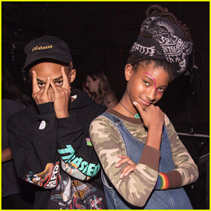 Willow Smith Gets Support from Brother Jaden at Girl Cult Festival!