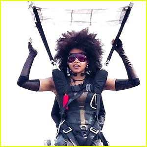 Zazie Beetz Films Her Own Stunts on 'Deadpool 2' Set!