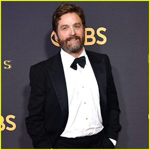 Zach Galifianakis Shows Off His Slimmed Down Figure at Emmys 2017
