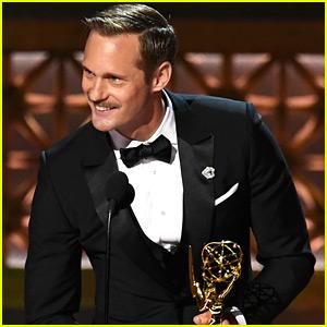 Big Little Lies' Alexander Skarsgard Wins His First Emmy Award!