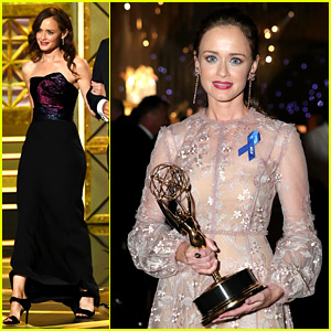 Alexis Bledel Attends Emmys 2017 After Guest Actress Win!